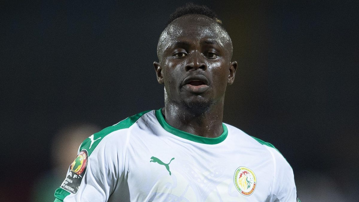 Sadio Mane of Senegal during the 2019 Africa Cup of Nations Group C match between Senegal and Algeria at 30th June Stadium on June 27, 2019 in Cairo, Egypt.