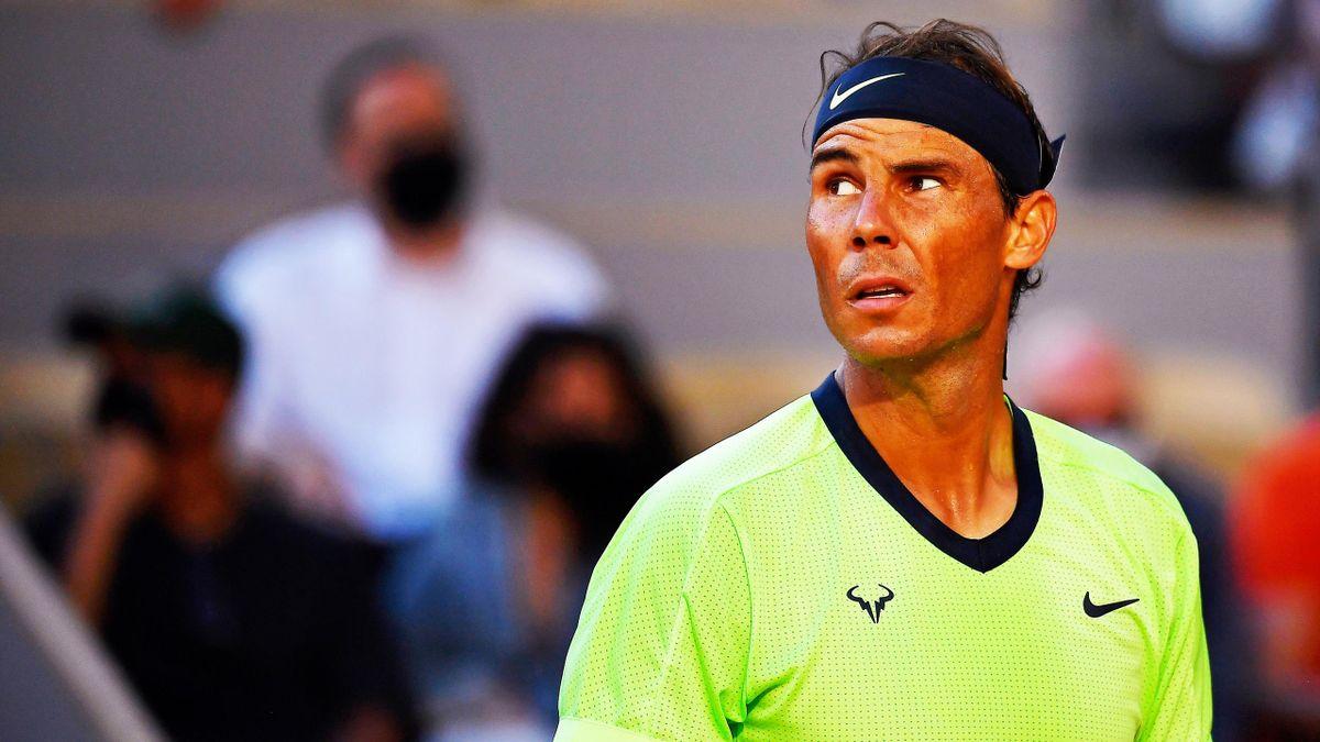 Rafael Nadal bei den French Open 2021