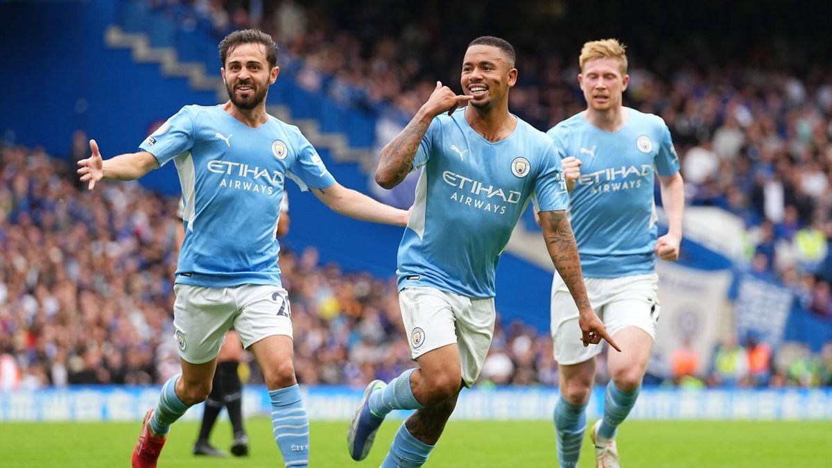 La joie de Gabriel Jesus face à Chelsea
