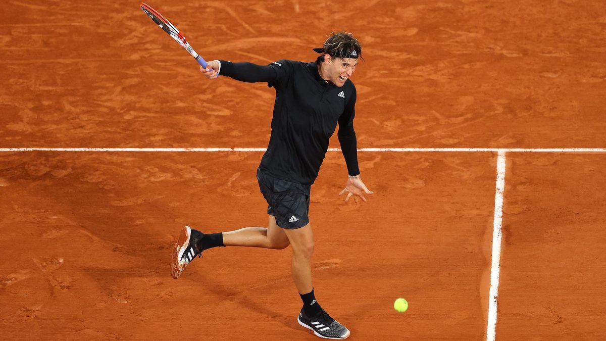 Dominic Thiem, Roland Garros, Getty Images