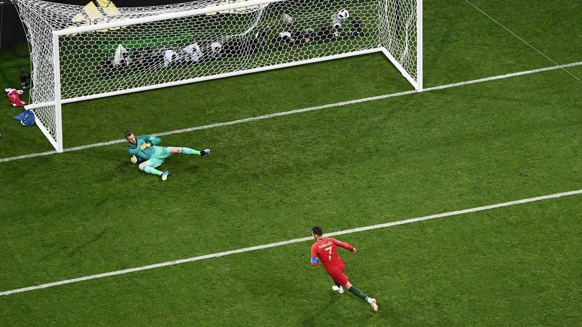 Cristiano Ronaldo bei Portugal - Spanien