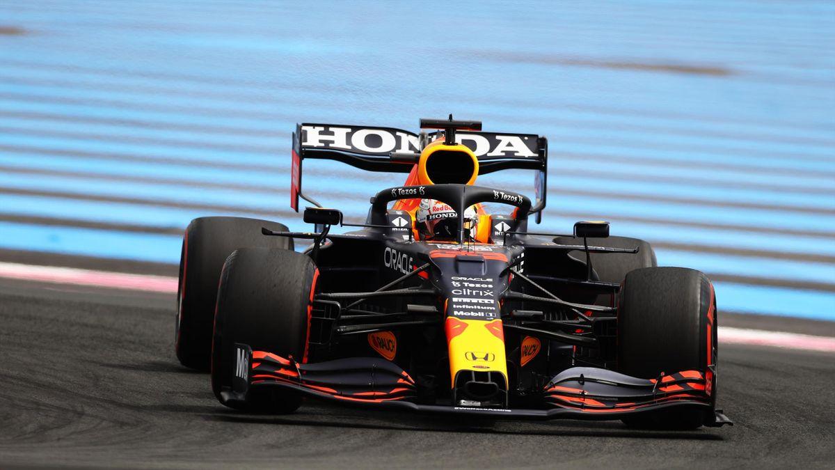 Max Verstappen (Red Bull) in Le Castellet