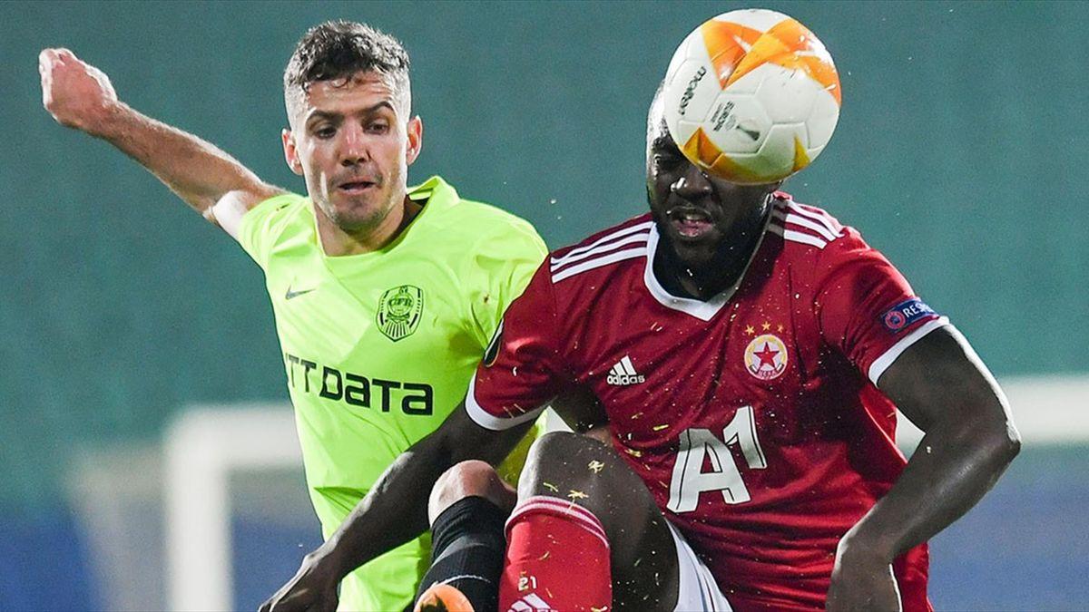 ŢSKA - CFR 0-2, în Europa League