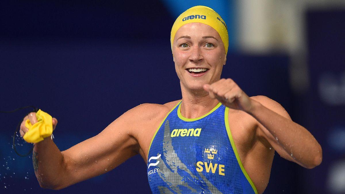 Schwedens Schwimstar Sarah Sjöström