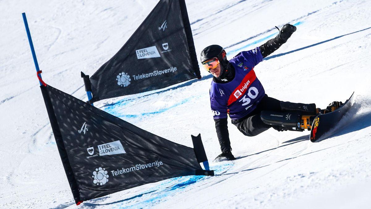 Dmitry Loginov | Snowboard Parallel Slalom | ESP Player Feature