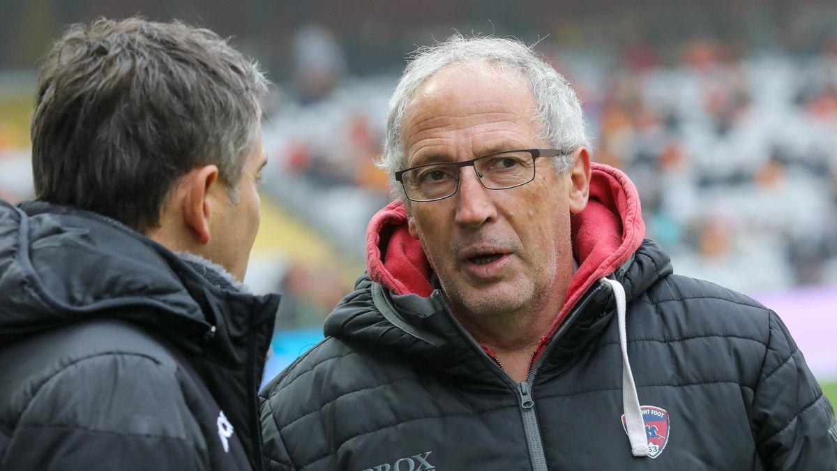 Pascal Gastien, l'entraîneur de Clermont.