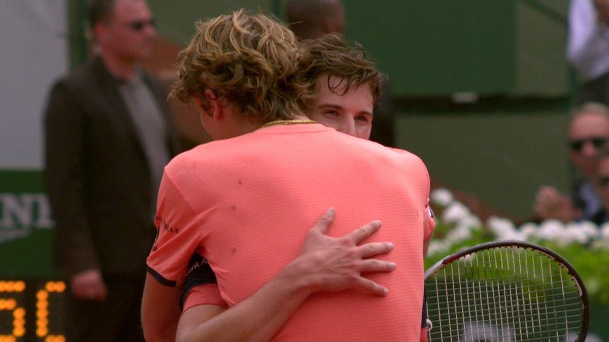 French Open: HLTS Thiem v Zverev