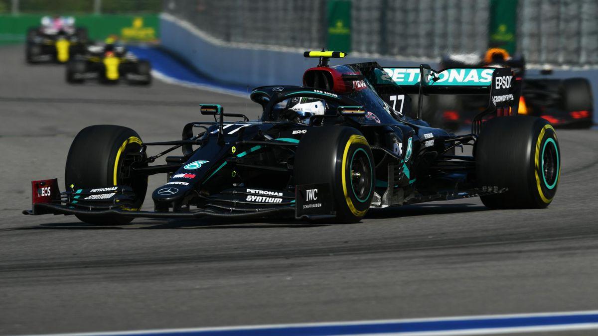Valtteri Bottas (Merceedes) sur le Grand Prix de Russie