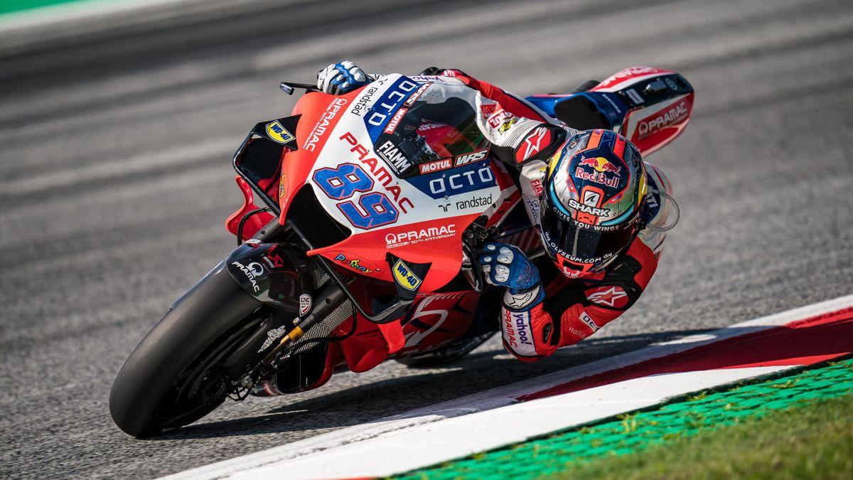 Jorge Martin fuhr am Sonntag erst sein sechstes Rennen in der MotoGP
