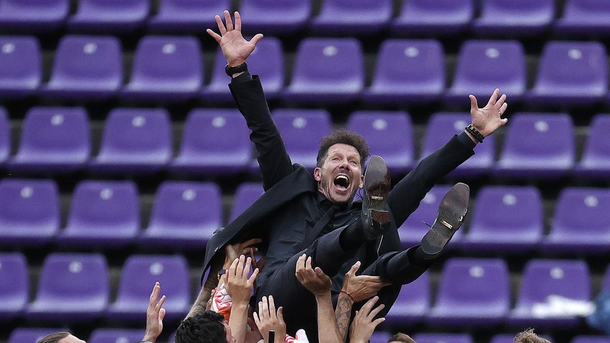 Atletico Madrid a sărbătorit la Valladolid al 11-lea titlu din istorie