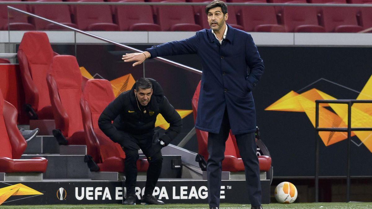 Paulo Fonseca, allenatore Roma (Ajax-Roma Europa League)