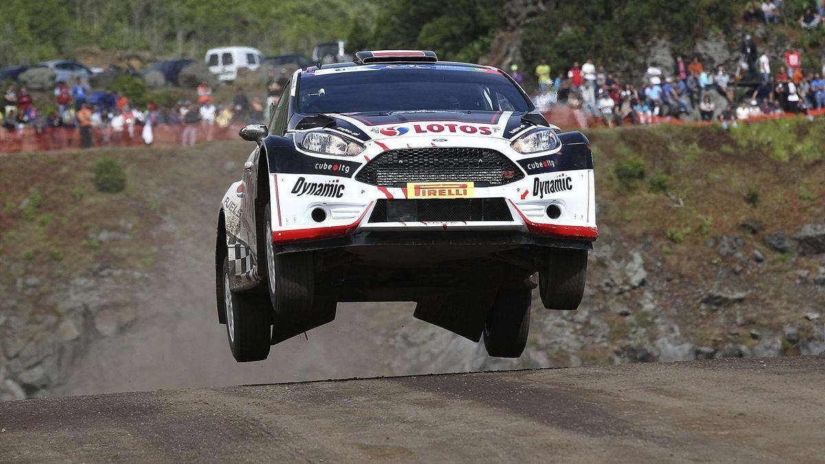 Kajetan Kajetanowicz baut seinen Vorsprung bei der Rallye Europameisterschaft aus