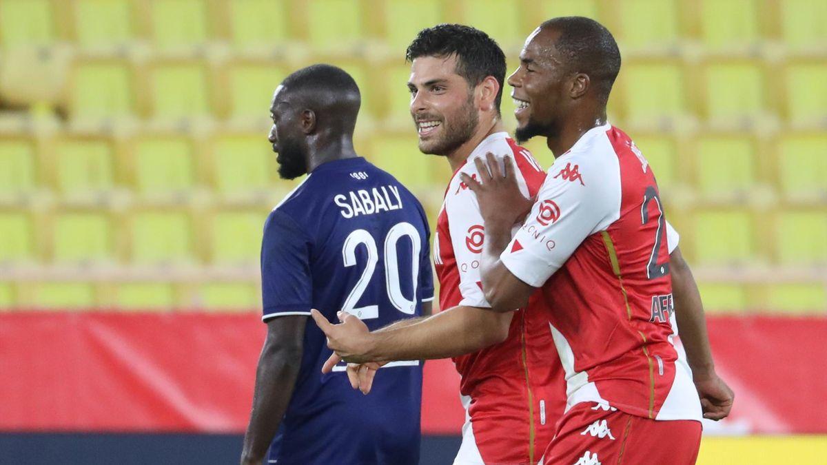 Kevin Volland (Mitte) war mit zwei Toren der Matchwinner beim 3:2-Erfolg gegen Paris Saint-Germain