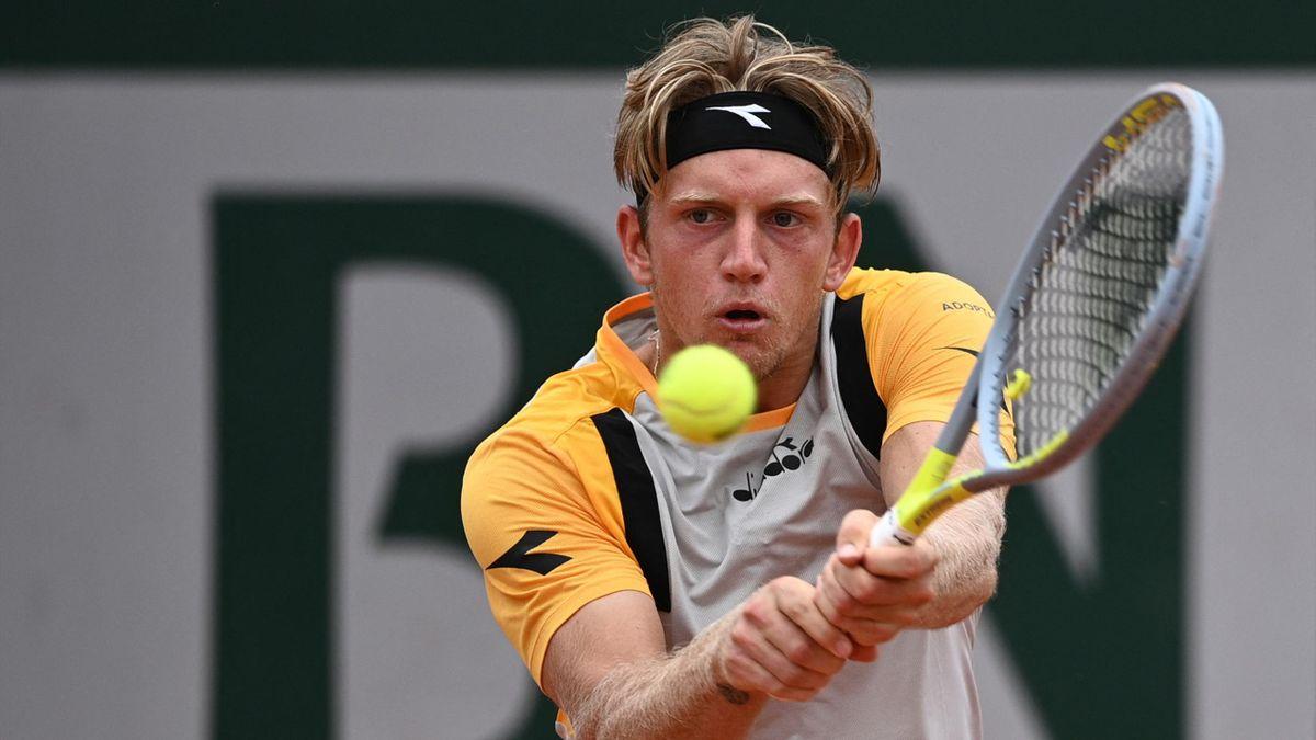 Davidovich, en Roland Garros 2021.