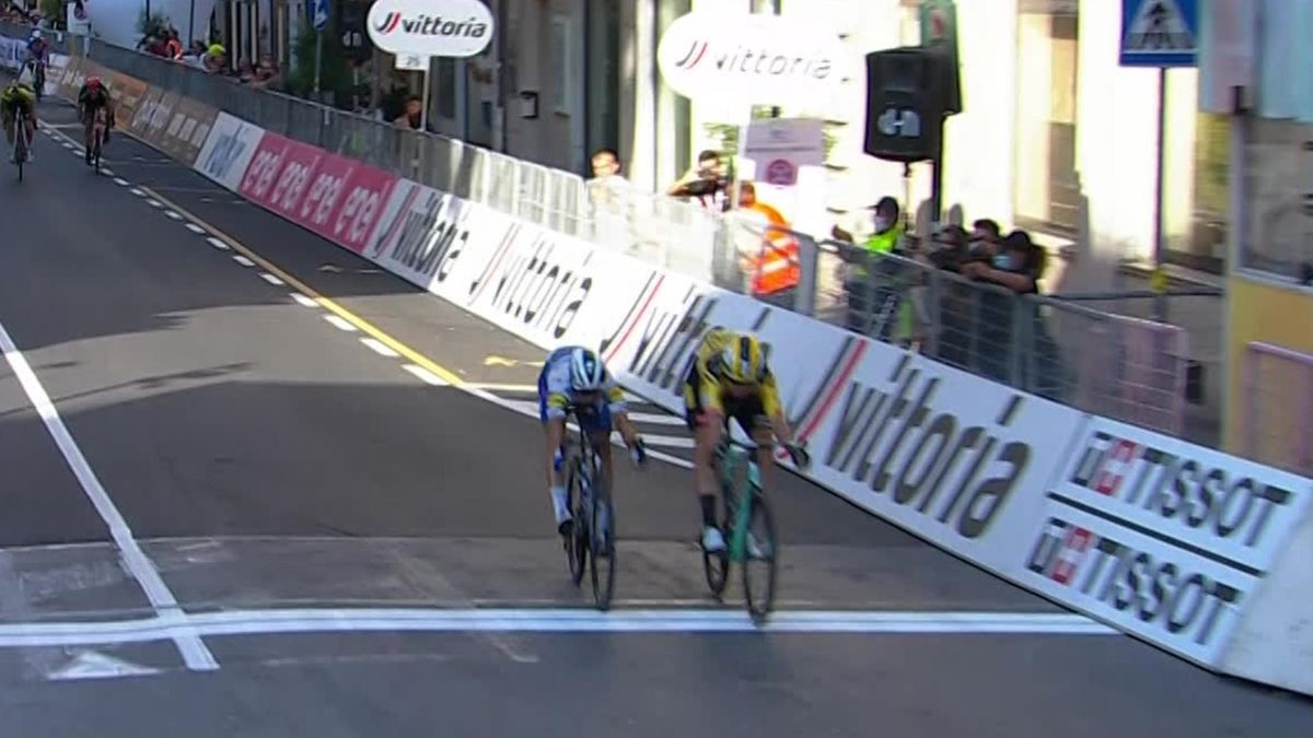 Milan - San Remo - Last KM and victory for Van Aert