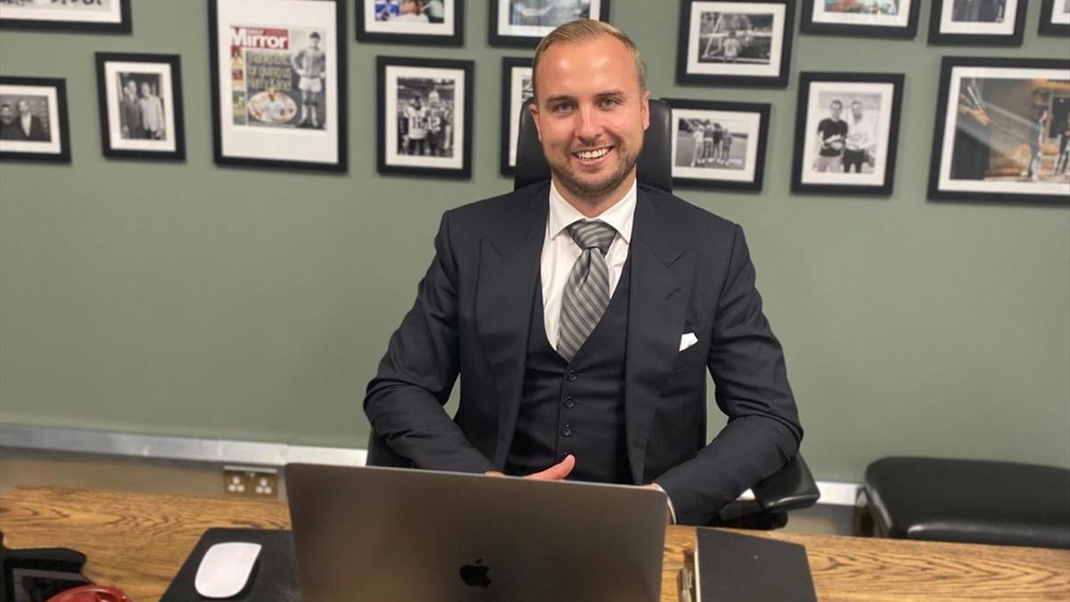 Charlie Kane, agent and brother of Harry Kane