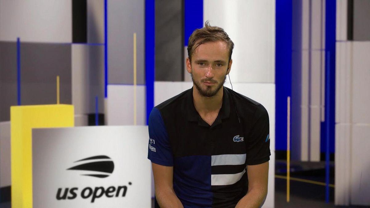 Daniil Medvedev se concentrează sută la sută pe US Open
