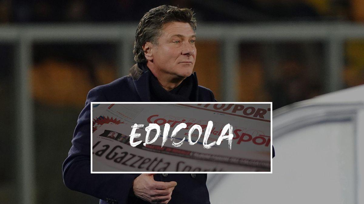 Edicola: Mazzarri può tornare al Napoli?