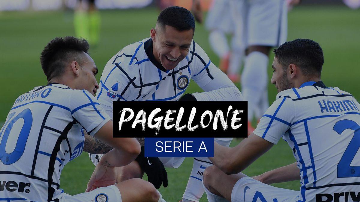 Pagellone Serie A: l'Inter fa il vuoto, la Roma è stanca