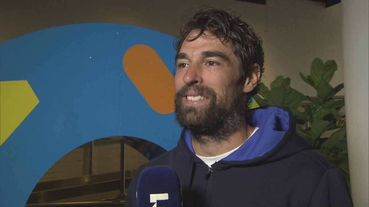Australian Open: Interview Chardy