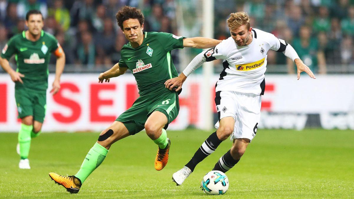 Werder Bremen gegen Borussia Mönchengladbach