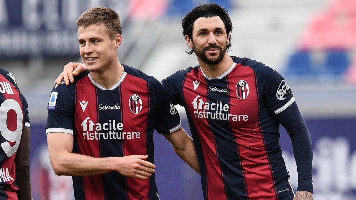 Serie A - Le pagelle di Bologna-Sampdoria 3-1: Svanberg e Barrow a tutto spiano; disastro Ferrari - Eurosport