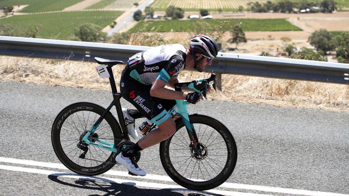 "Luke Durbridge nel ""super tuck"" al Santos Festival of Cycling 2021"