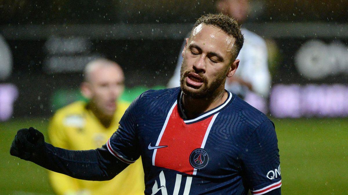 Neymar avec le PSG, 2021