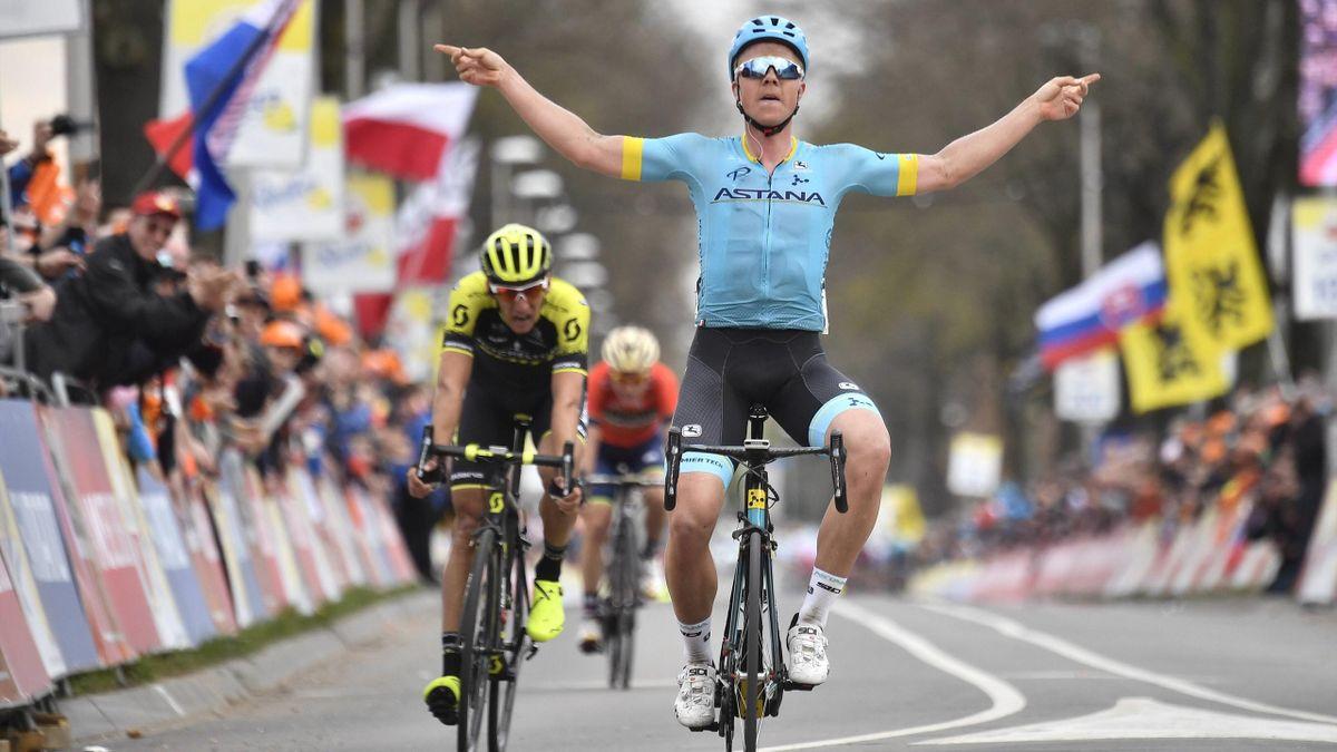 Michael Valgren gewinnt das Amstel Gold Race 2018