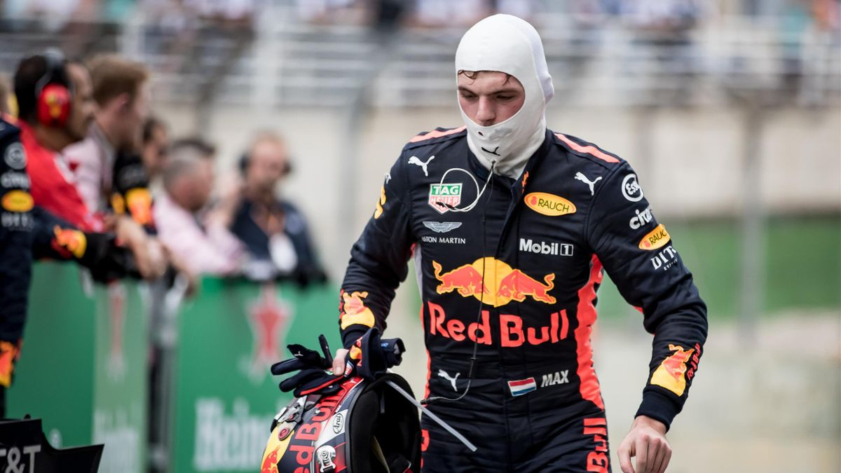 Max Verstappen (Red Bull) au Grand Prix du Brésil 2018