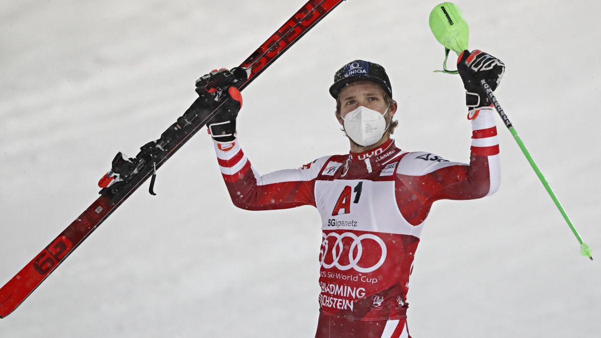 Austria's Marco Schwarz