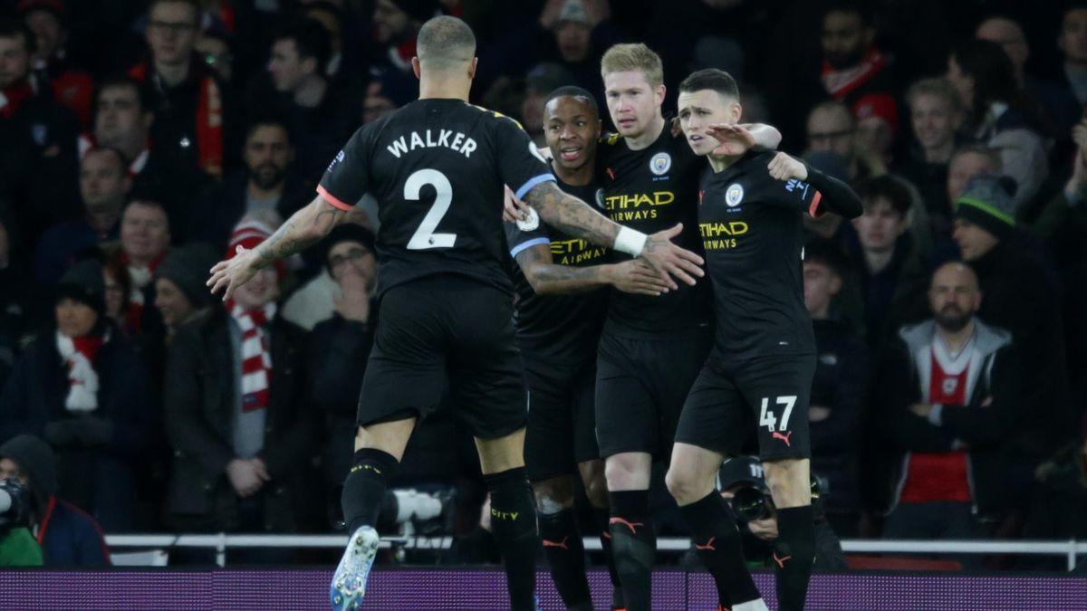 De Bruyne - Arsenal-Manchester City - Premier League 2019/2020 - Getty Images