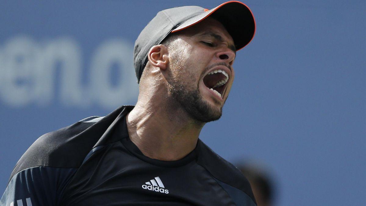 Jo-Wilfried Tsonga lors de son match perdu face à Andy Murray