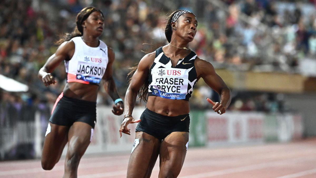 Shelly-Ann Fraser-Pryce s'impose sur le 100m du meeting de Lausanne