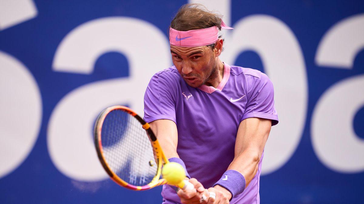 Rafael Nadal beim ATP-Turnier in Barcelona