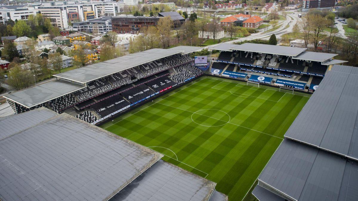 Lerkendal Stadion i Trondheim