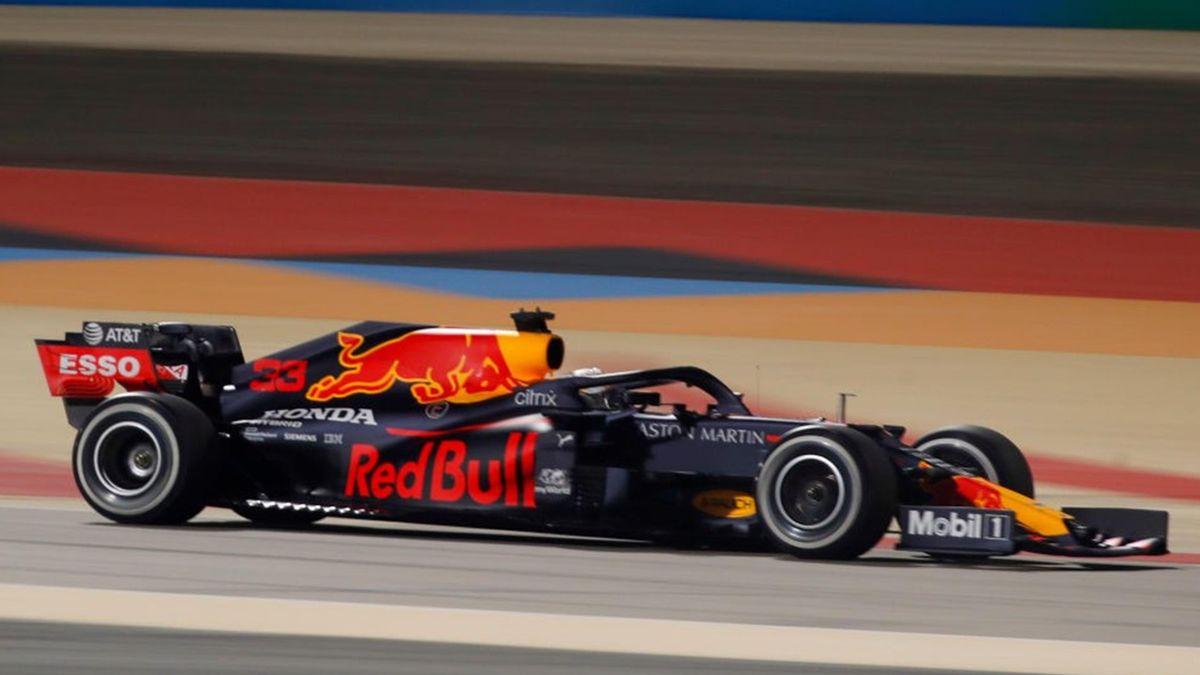 Max Verstappen (Red Bull) au Grand Prix de Sakhir 2020
