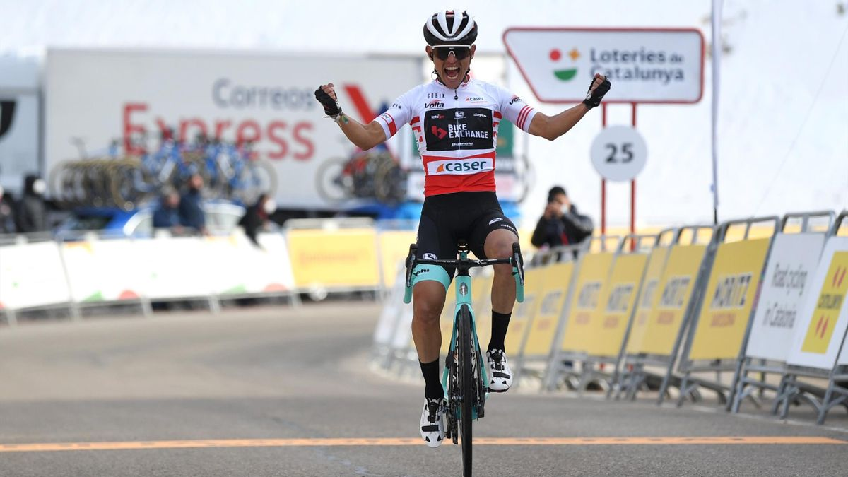 Esteban Chaves takes stage four at the Volta a Catalunya