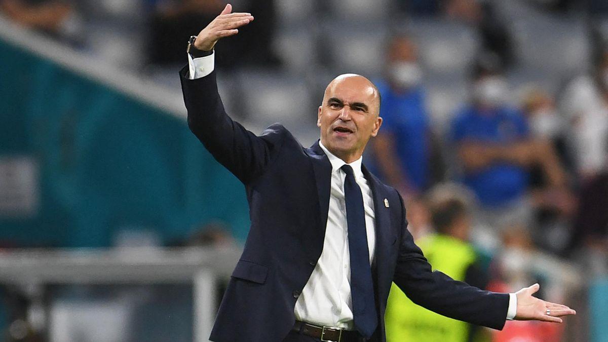 Роберто Мартинес, Бельгия – Италия, Евро-2020