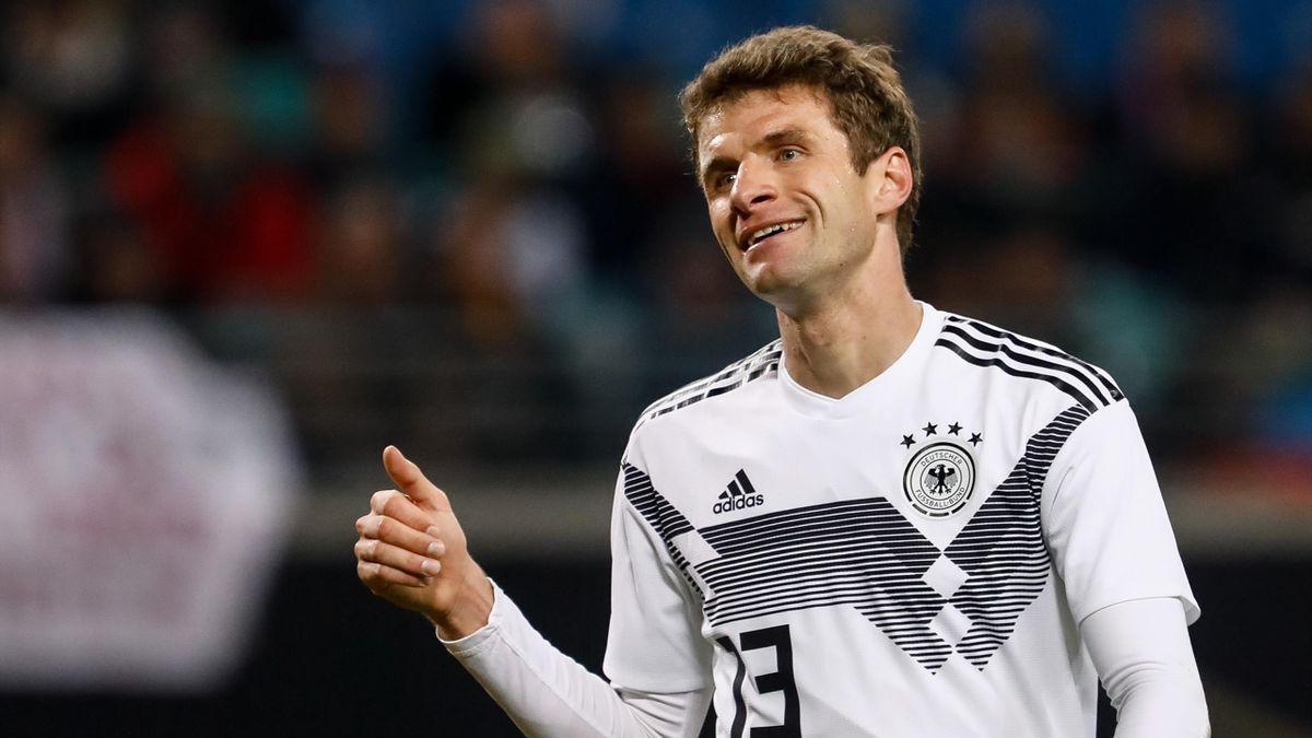 Thomas Müller könnte nach über zwei Jahren sein DFB-Comeback feiern
