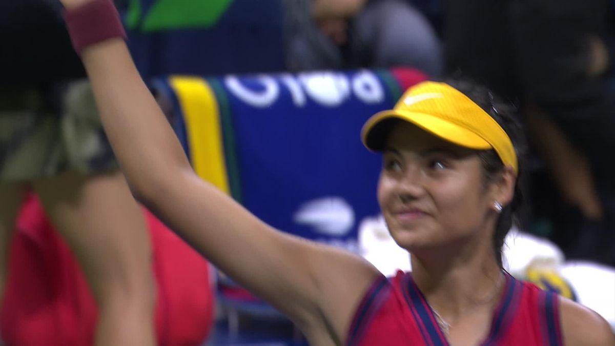 US Open | Raducanu kan breeduit lachen na benutten van eerste matchpoint