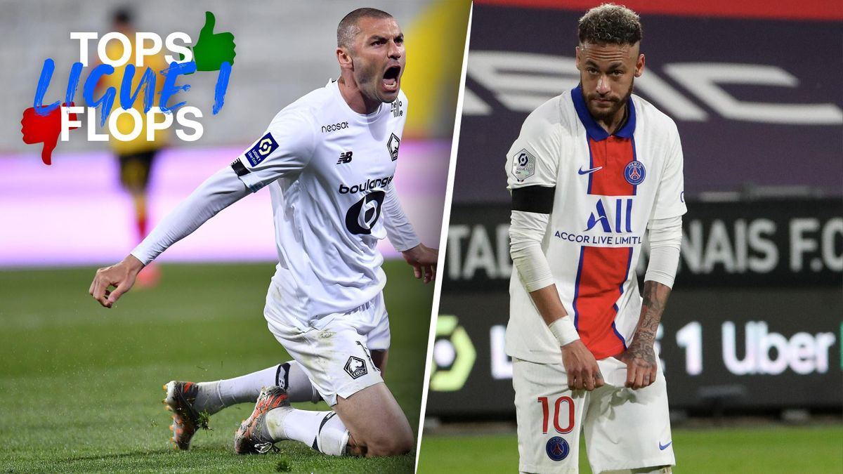 Tops Flops L1 - Yilmaz (Lille) - Neymar (PSG)