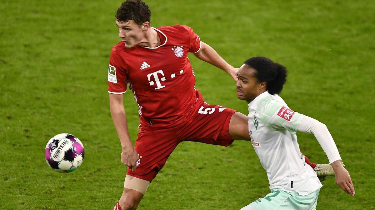 FC Bayern München gegen Werder Bremen