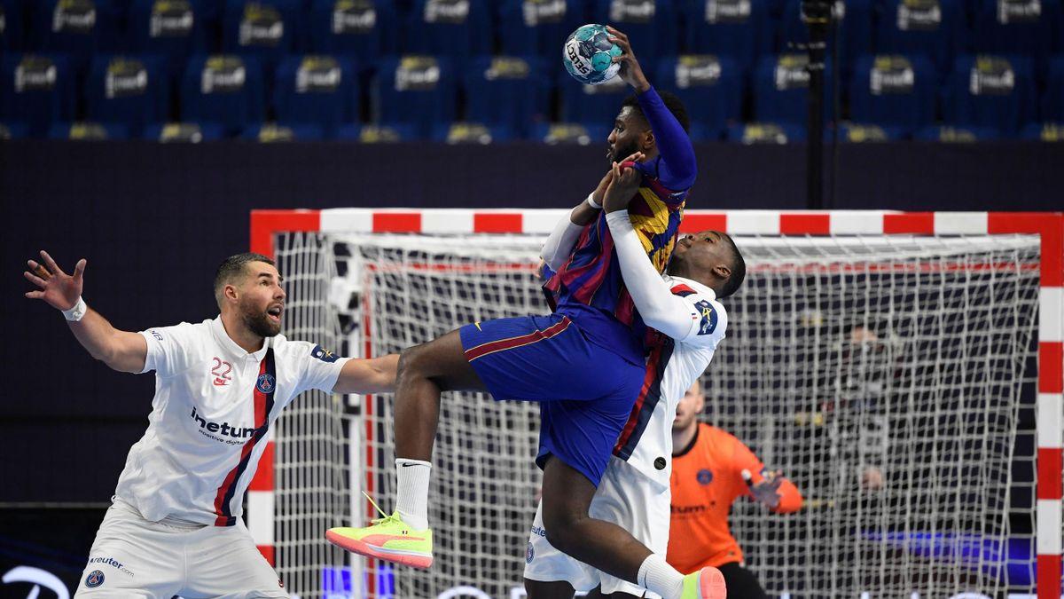 Dika Mem (Barça) a fait mal au PSG, ce lundi en demi-finale de la Ligue des champions - 28/12/2020