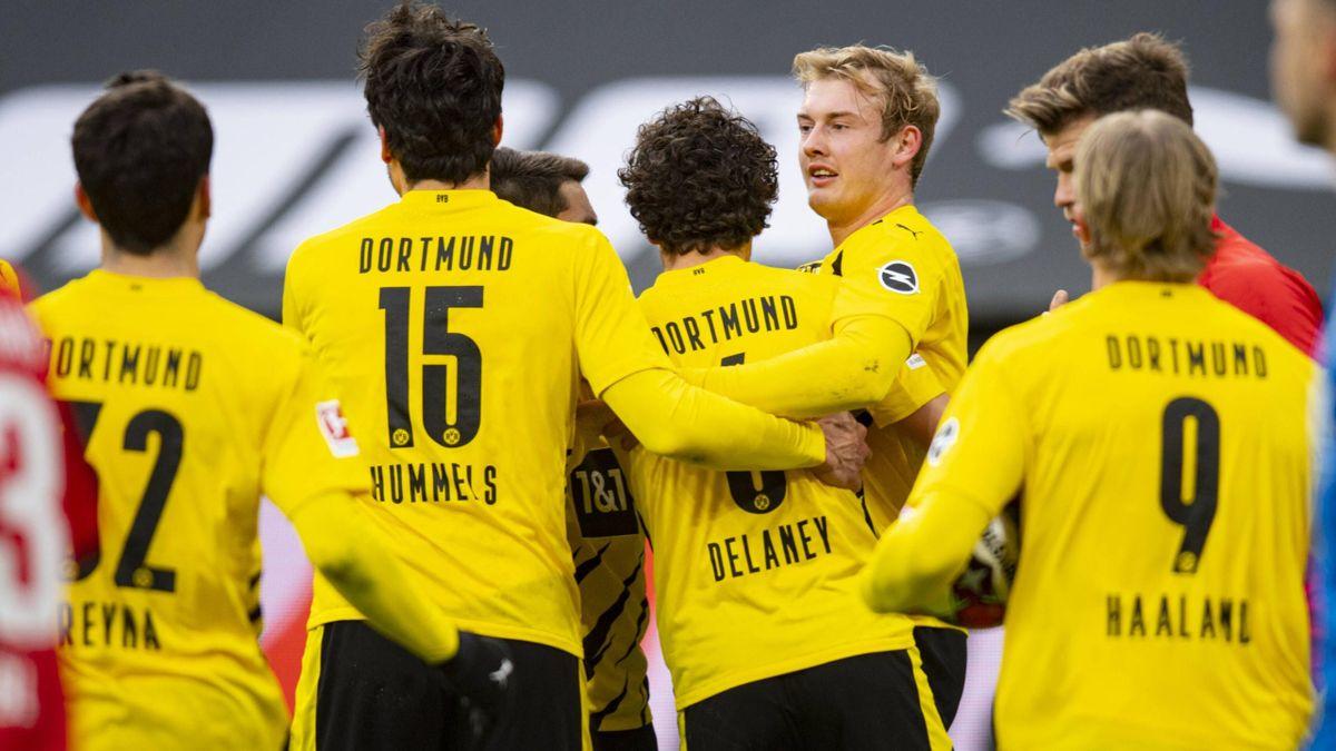 Borussia Dortmund schlägt den FC Augsburg