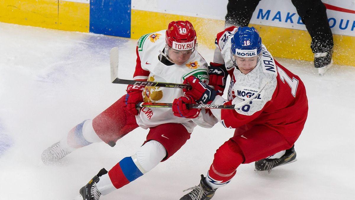 Россия – Чехия на МЧМ
