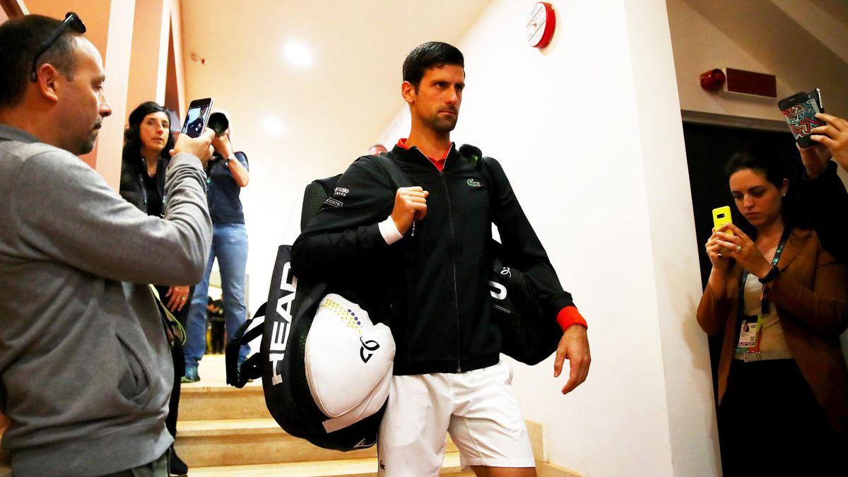 Novak Djokovic beim ATP Masters in Rom