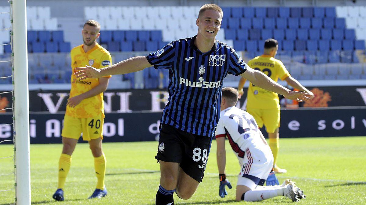 Mario Pasalic in Atalanta-Cagliari