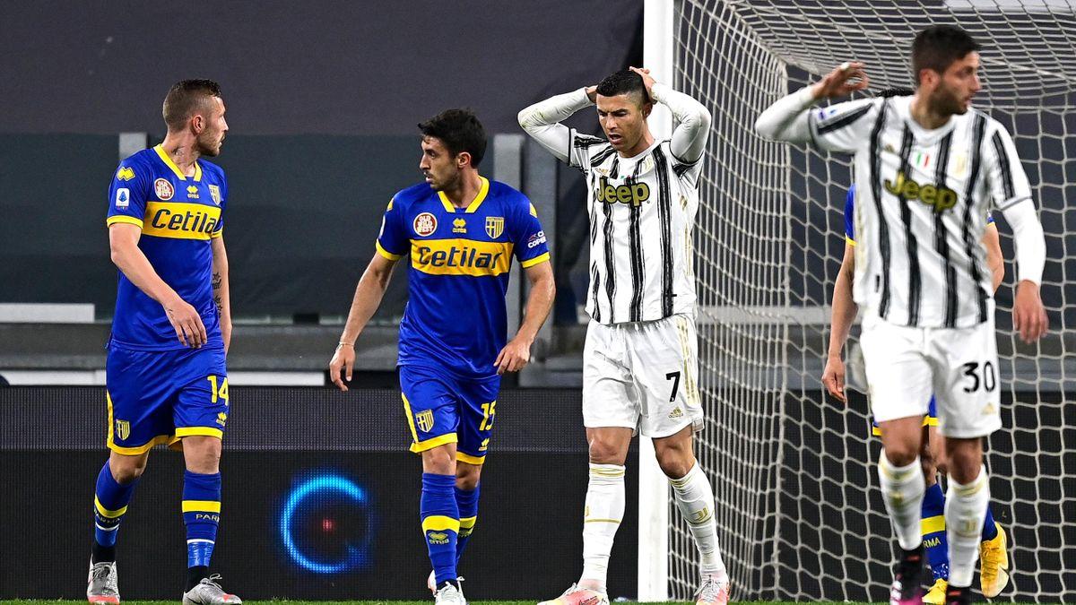 Cristiano Ronaldo, Juventus-Parma, Serie A 2020-21, Getty Images