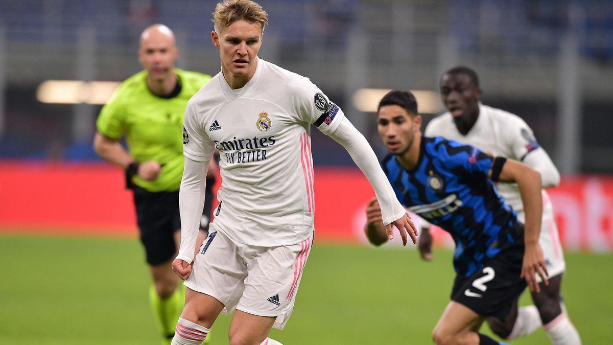 Real Madrid: Martin Ödegaard gibt Champions-League-Debüta